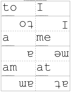 Kindergarten Sight Words template
