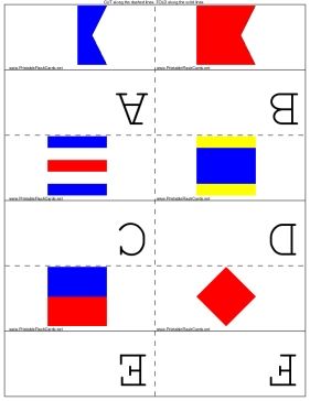 Maritime Flags template