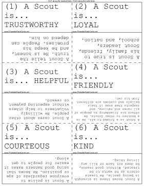 Crush image with boy scout law printable
