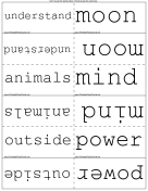 Fourth Grade High Frequency Words First 100