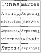 Months, Seasons, Days in Spanish/English