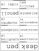 Spanish Words for the Classroom